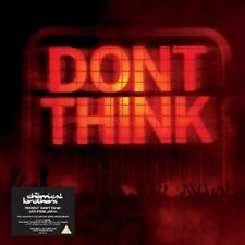 """THE CHEMICAL BROTHERS """"DON'T THINK (INCL. XL 10'' CASEBOUND BOOK)""""  CD+DVD NEU"""