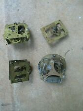 Lot/Group Antique Brass Clock gears/movements Steampunk Parts Tin Antique
