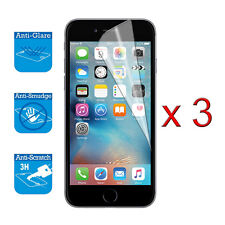 iPhone 6 6S 4-7 inch Screen Protector Cover Guard Film Foil x 3