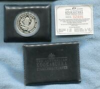 1990 $5 1oz Silver Kookaburra 1st Proof Coin Australia