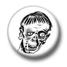 Zombie 1 Inch / 25mm Pin Button Badge  Zombies Halloween Scary Monsters Ghosts