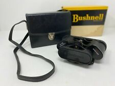 Vintage Bushnell Binoculars Sportview 8x30 with leather case and original box