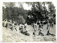 "British Army Football Match Gurkhas v Signals 1915 World War 1 5x4"" Rep Photo bl"