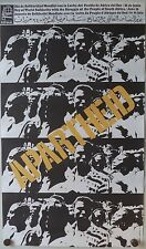 OSPAAAL CUBAN Original Political Poster SOUTH AFRICA Apartheid Solidarity 1975