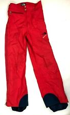 Vintage North Face Extreme Pants Size Small Red Full Zip Gore Tex Snow Ski USA