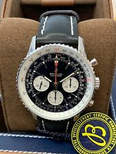 Breitling Navitimer 1 B01 Chronograph 43mm Watch Black 2019 With Papers UNWORN