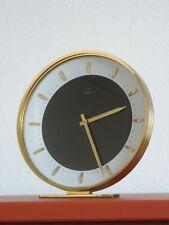 VINTAGE MECHANISCHE  JUNGHANS TISCHUHR UHR TABLE CLOCK GERMANY 60er - 70er