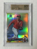 JAHMAI JONES 2017 Bowman Chrome GOLD SP RC 18/50! BGS GEM MINT 9.5! REFRACTOR!