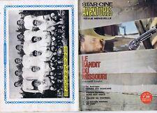 Star-ciné aventures 175 04/1966 Le bandit du Missouri Football SCO d'Angers