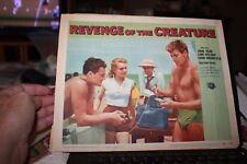 Revenge of the Creature Original Lobby Card 1955 horror movie