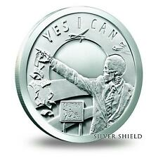 1 OZ SILVER COIN *SEVEN SINS OF OBAMA* *YES I CAN* TRIVIUM SILVER SHIELD SBSS