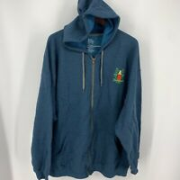 Mickey Mouse Dole Whip Tiki Room Zip Hoodie 2XL D23 Expo 2019 Limited Edition