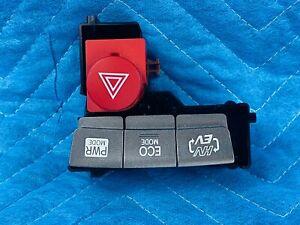 Toyota Prius Plug-In EV ECO MODE PWR Mode Hazard Switch Button 2012-2015 OEM