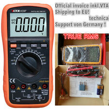 Vc97 Victor digital Multimeter 3 3/4 con Ture RMS incl. de termómetro de