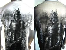 MMA Japanese Samurai Horse Warrior Venum of Yakuza-Affliction Tattoo Art T-SHIRT