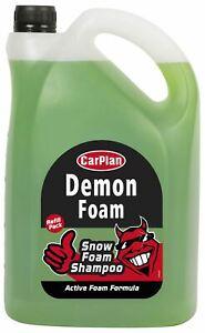 CarPlan CDW005 5L Demon Foam Snow Foam Shampoo 5 Litre Active Foam Formula
