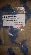 HO SCALE C & D HOP01 5th Wheel Hitch plate for P.U NIP