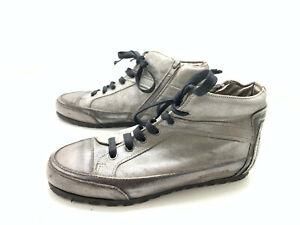 Candice Cooper Damen Stiefel Stiefelette Boots Silber Gr. 37 (UK 4)