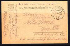 Feldpost, K.K.Landwehrinfanteriegegiment Wien Nr. 1,15.101916,k.u.K.Feldpost 291