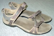 Teva Verra Sandals 9.5 US Women's Taupe Strappy Hook Look