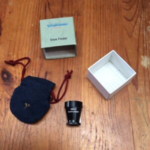 Voigtlander 28mm metal external viewfinder finder OVF for Leica M LTM, Zeiss ZM