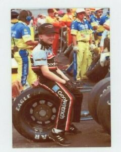 Dale Earnhardt Jr  - METAL Racing Trading Card - Young Dale