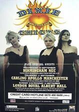 DIXIE CHICKS POSTER UK TOUR 2003