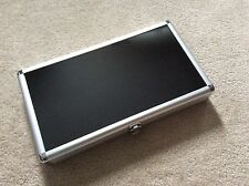 """1 (only) - 8-1/2 x 15 x 2"""" Aluminum Display Case (Made in US)"""