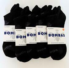 New listing Bombas Unisex Low-cut Ankle Socks Size L Black 5 Pairs Honeycomb