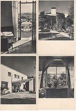 Lot 4 cartes postales anciennes ESPAGNE ESPANA D.G.T ALBERGUES DE CARRETERA