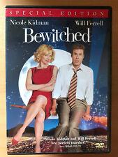 Nicole Kidman Will Ferrell BEWITCHED ~ 2005 Feature Film Movie   Region 1 US DVD