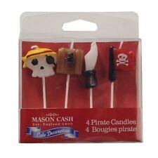 Mason Cash Birthday Cake Celebration Cake Candles Pirate NEW