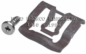 FITS FORD BRONCO 1980-1996 WINDSHIELD REVEAL MLDG CLIPS 20