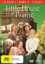 Little House On The Prairie : Season 3 : Part 2(DVD, 2008, 3-Disc Set) BRAND NEW