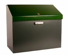 iBin Grande Parcel Delivery Box  /  iBin Postal Courier Box - Colour Grey-Green