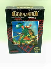 Commando - Nintendo NES - Capcom, 1986 - Factory Sealed MISB H-Seam