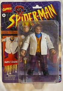 "Hasbro Marvel Legends Retro Spider-Man Classics Wave KINGPIN Variant 6"" Figure"