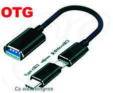 CAVO OTG USB MICROUSB + ADATTATORE MICROUSB TYPE C PER CELLULARI XIAOMI SAMSUNG
