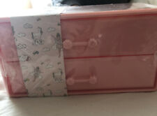 Pink Make Up Drawers Two Drawers Sealed New