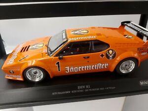 Minichamps 1/18 BMW M1 Jagermeister #1 KONIG DRT 1982 LTD 750pcs 155822901 NEW!!