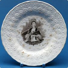 c1837 Queen Victoria at the Opera Small Plate