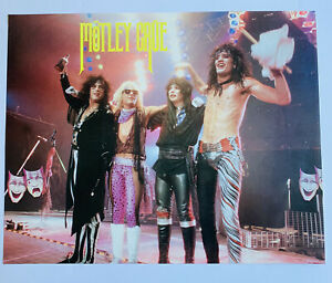 Motley Crue Theatre Of Pain Concert Glam Rock Hair Band Music 20x16 Poster