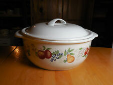 Corelle Coordinates CHUTNEY 2.5 Qt Round Covered Casserole 9 in w Lid