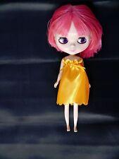 Blythe Doll Yellow Summer Dress