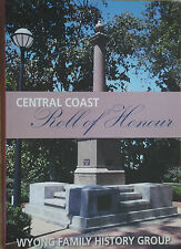 WYONG CENTRAL COAST ROLL OF HONOUR