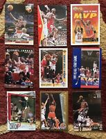 MICHAEL JORDAN MJ BULLS Lot Of 9 Different TSC FLEER UD ULTRA SP USA Insert