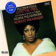 TOSCA (GA) HERBERT VON KARAJAN 2 CD NEU