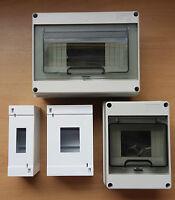 2/4/8 Module Enclosure Trip Contactor MCB Waterproof Fuse Box IP40/IP65