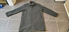 VTG ABERCROMBIE & FITCH MEN'S WOOL TRENCH COAT PEACOAT SZ L