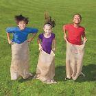 6 - 24x40 Burlap Bags, Burlap Sacks, Potato Sack Race Bags, Sandbags, Gunny Sack